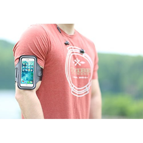 84d33a702 TRIBE Water Resistant Cell Phone Armband Case for iPhone X