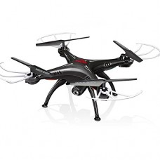 HOT Product Syma X5SW-V3 FPV 2.4Ghz 4CH 6-Axis Gyro RC Headless Quadcopter Drone UFO with HD Wifi Camera (Black)
