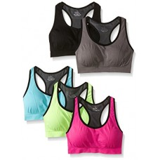 MIRITY Women Racerback Sports Bras - High Impact Workout Gym Activewear Bra