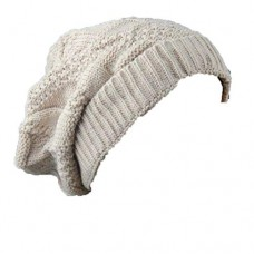Men and Women Casual Beanie Hat Skull Cap Warm Knit Ski Loose Winter Hat Pure Colour