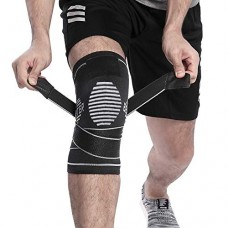 BERTER Knee Brace Men Women - Compression Sleeve Non-Slip Running, Hiking, Soccer, Basketball Meniscus Tear Arthritis ACL Single Wrap